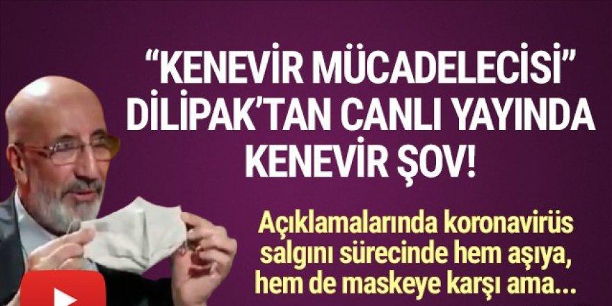 Abdurrahman Dilipak'tan canlı yayında ''kenevir'' şov