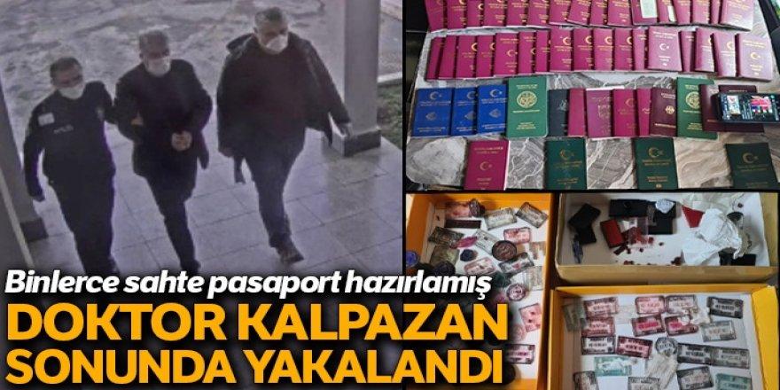 2 binin üzerinde sahte seyahat belgesi düzenleyen şüpheli tutuklandı
