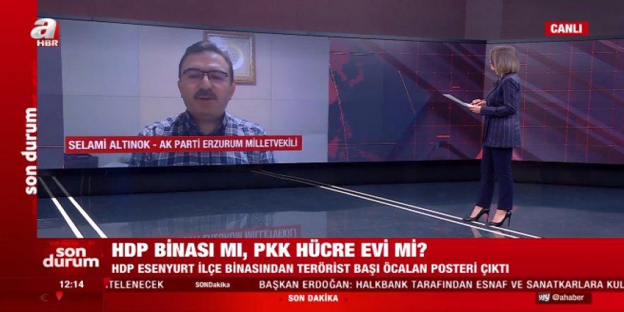 Altınok'tan, HDP'li Hasip Kaplan'a canlı yayında sert tepki.
