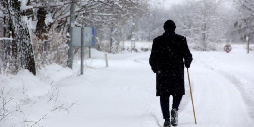 Doğu Anadolu'da aralıklı kar yağışı bekleniyor
