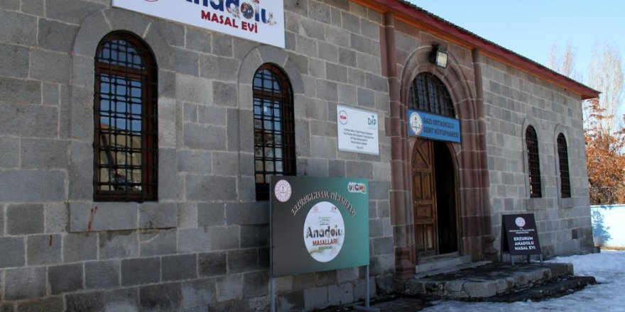 Erzurum Masal Evi çocuklara kapısını açtı