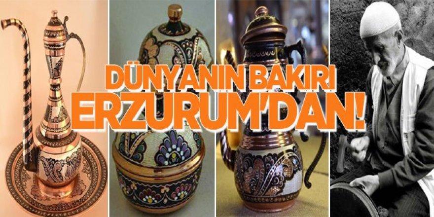 Bakır Erzurum'da yeniden doğdu dünyaya satılıyor