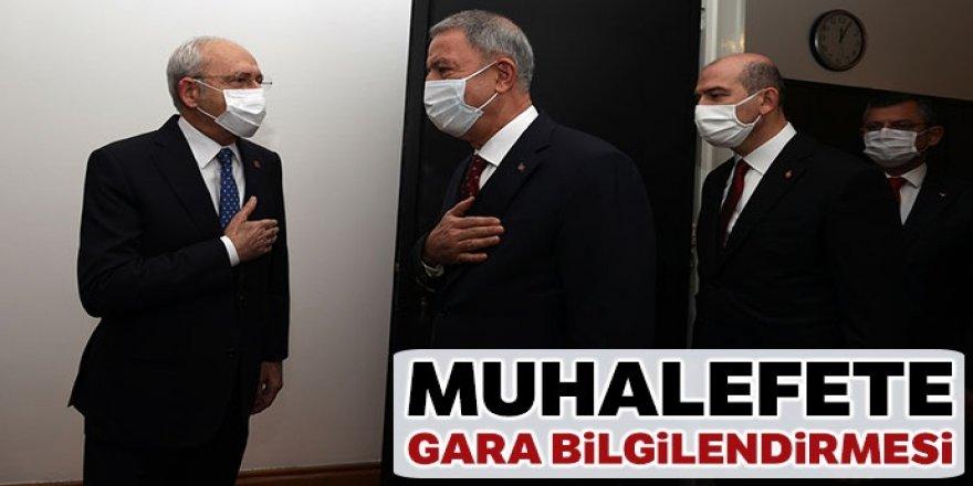 Bakan Akar ve Bakan Soylu, siyasi partileri ziyaret ediyor