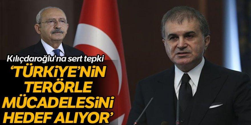 Sözcü Çelik'ten Kılıçdaroğlu'nun sözlerine sert tepki