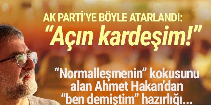 Ahmet Hakan bile isyan etti: ''Açın kardeşim lokanta ve kafeleri''