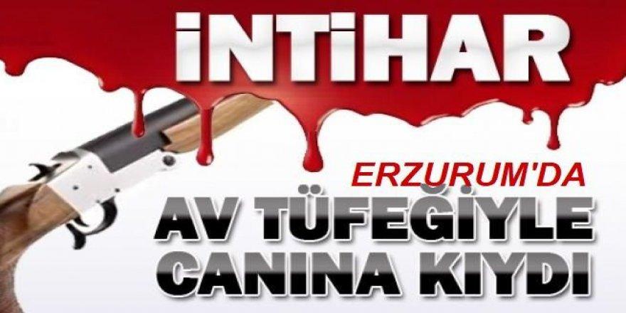 Erzurum'da Av tüfeğiyle intihar etti