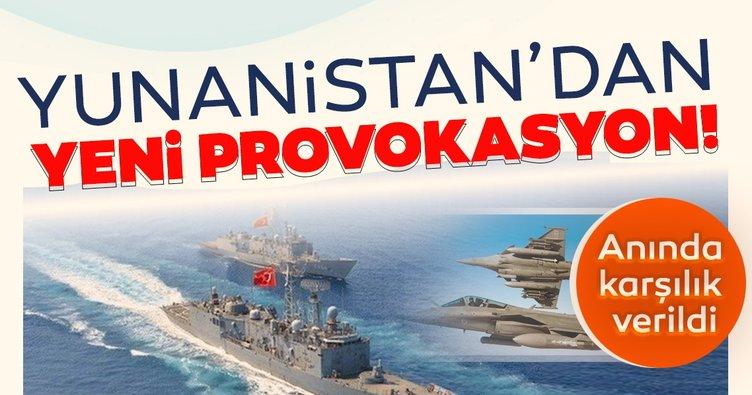 Yunanistan'dan Türk gemisine taciz!