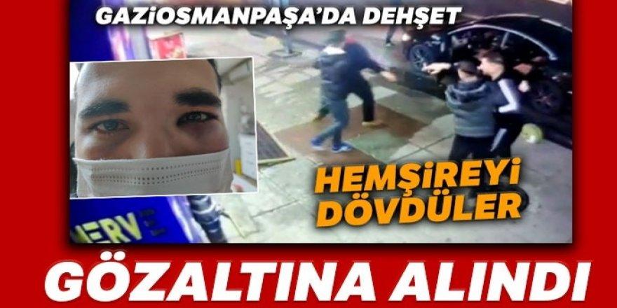 Hemşireye saldıran şüphelilerden biri gözaltına alındı