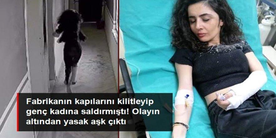 Fabrikanın kapılarını kilitleyip genç kadına saldırmıştı! Olayın altından yasak aşk çıktı