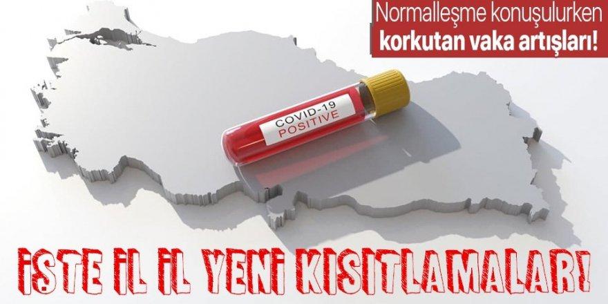 Koronavirüs vakalarında o iller alarm veriyor!
