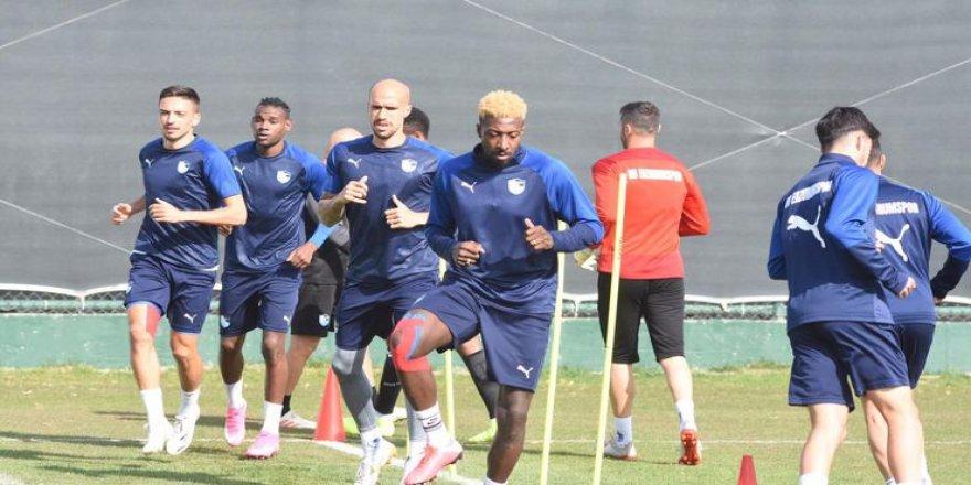 Erzurumspor, Fatih Karagümrük maçı hazırlıklarına başladı