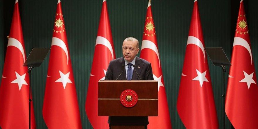 CANLI - Cumhurbaşkanı Erdoğan: Yeni ve sivil anayasa metnimizi tamamlayıp milletimizin takdirine sunmakta kararlıyız