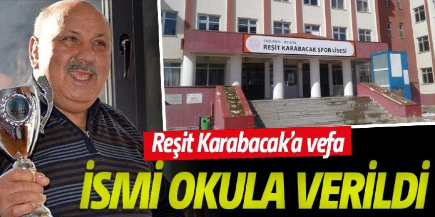 Erzurum Milli Eğitimden vefa