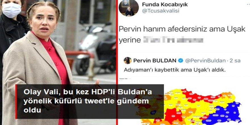 Uşak Valisi, HDP'li Buldan'a yönelik küfürlü tweet iddialarını yalanladı