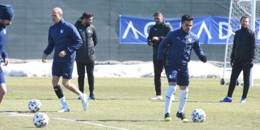 Erzurumspor'da Göztepe maçı hazırlıkları başladı