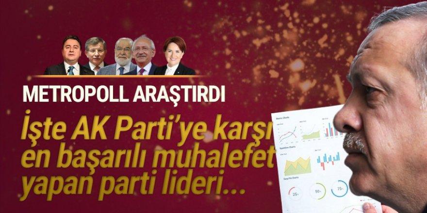 MetroPOLL'ün ''en başarılı muhalifet lideri'' anketinden o çıktı!