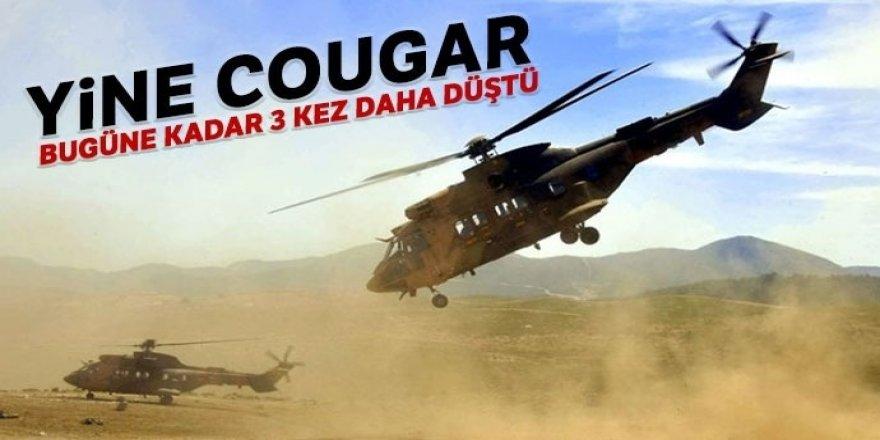 Yine Cougar! Bugüne dek 3 kez daha düştü
