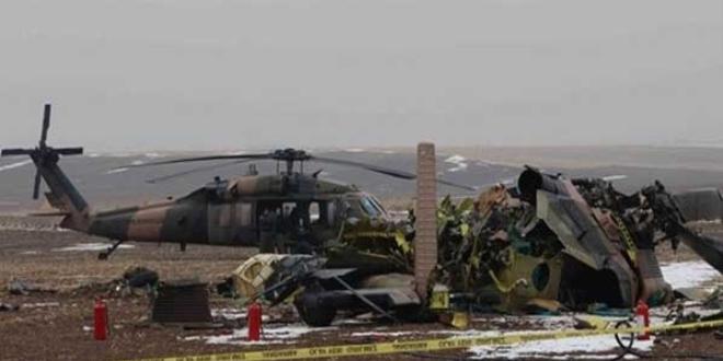 Bitlis'teki askeri helikopter neden düştü?
