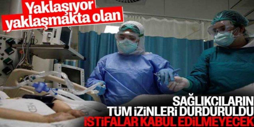 Sağlık Bakanlığı doktorların istifa etmesini yasakladı