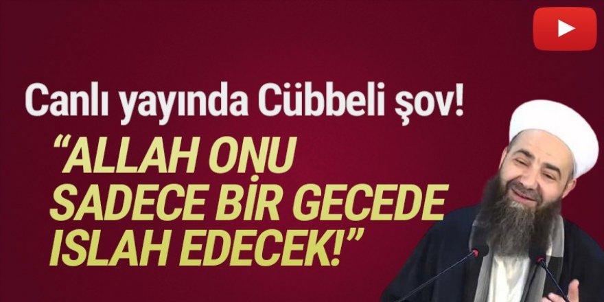 Cübbeli Ahmet'ten canlı yayında damga vuran açıklama