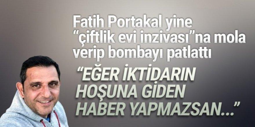 Fatih Portakal: ''Bunu yapmayan gazeteciler vatan haini''