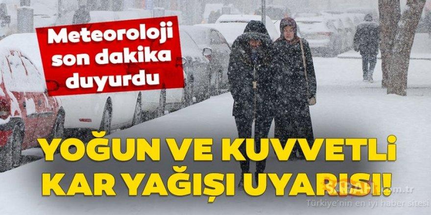 Doğu Anadolu'da 6 ilde karla karışık yağmur ve kar yağışı etkili olacak