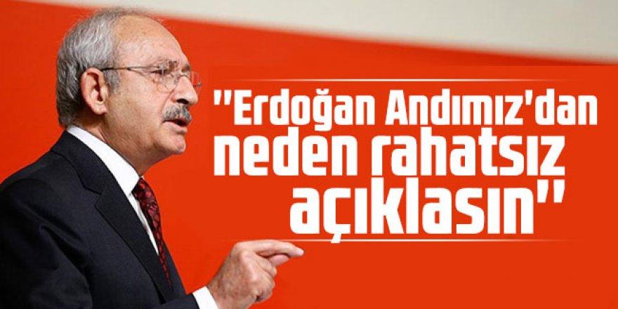 Kılıçdaroğlu: ''Erdoğan Andımız'dan neden rahatsız açıklasın''
