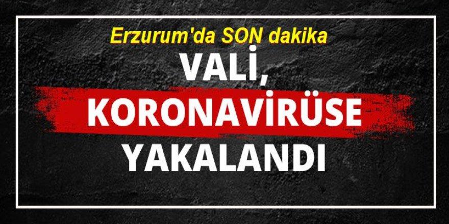 Erzurum Valisi Okay Memiş, koronavirüse yakalandı