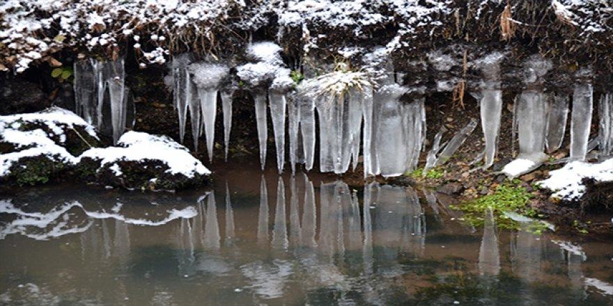 En düşük sıcaklık sıfırın altında 10 dereceyle Erzurum ve Ağrı'da ölçüldü