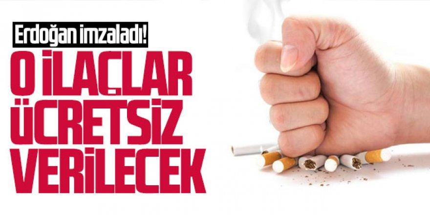 Cumhurbaşkanı Erdoğan imzaladı! İlaçlar ücretsiz verilecek
