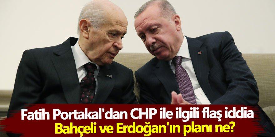 Fatih Portakal'dan CHP ile ilgili flaş iddia: Bahçeli ve Erdoğan'ın planı ne?