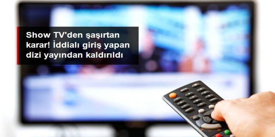 Show TV iddialı giriş yapan Kırmızı Kamyon dizisini yayından kaldırdı