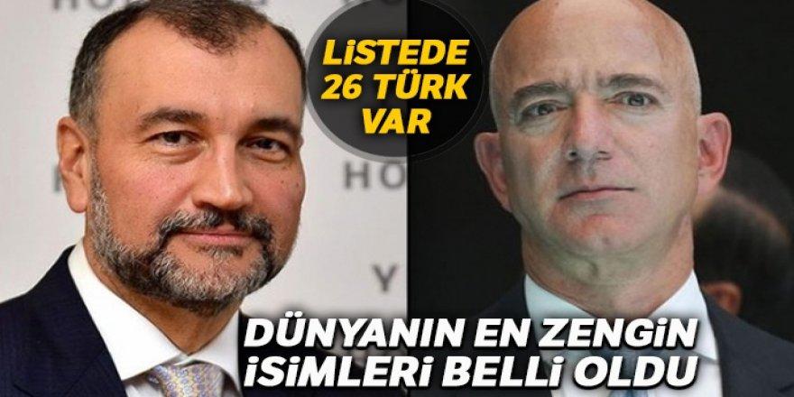 Dünyanın en zenginleri arasında 26 Türk