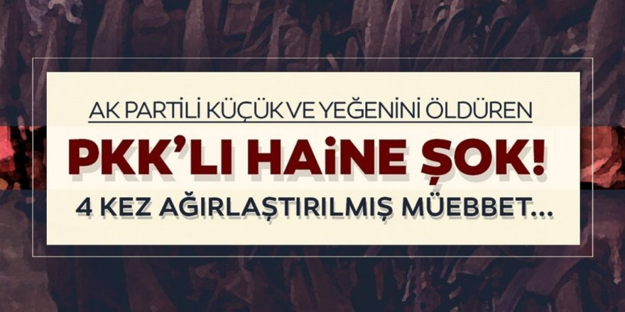 Erzurum'da teröristin yargılanmasına devam edildi