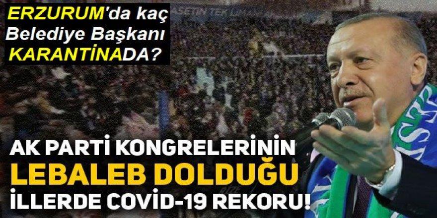 Lebalep kongre sonrası AK Parti'de korona virüs vakaları artıyor!