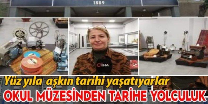 Erzurum'un asırlık lisesindeki müze, eserleriyle tarihe ışık tutuyor