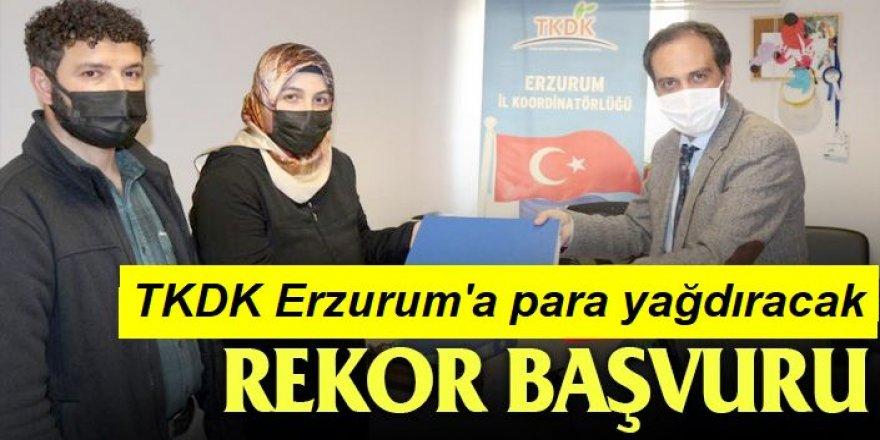 Erzurum TKDK'ya rekor hibe başvurusu!