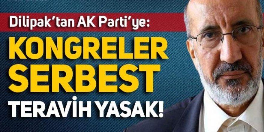 Dilipak'tan AK Parti'ye ''lebalep'' tepkisi
