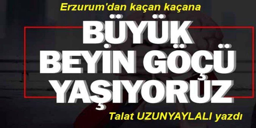 Erzurum üniversitelerinden giden akademisyenler!