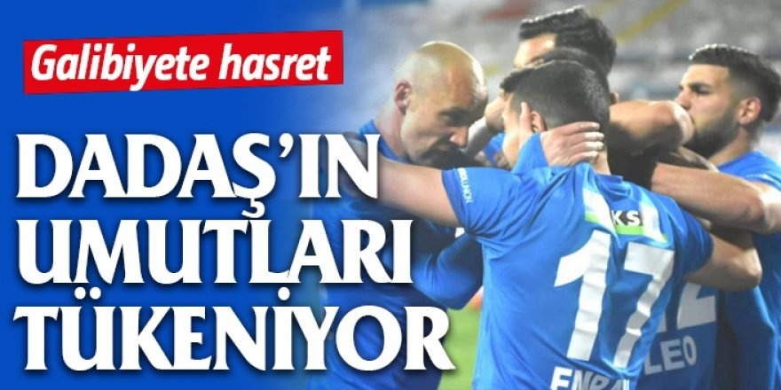 BB Erzurumspor'un umutları tükeniyor