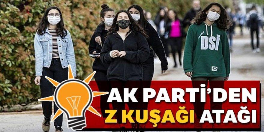 AK Parti'den Z kuşağı atağı