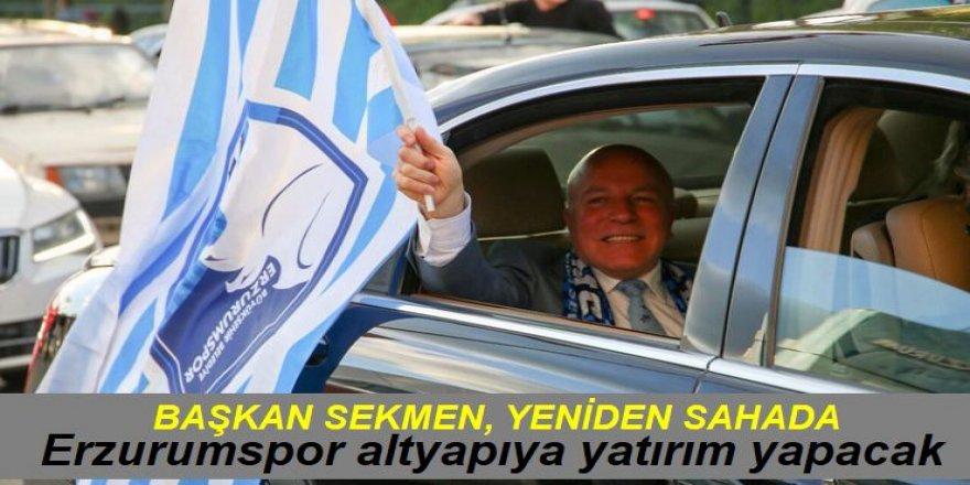 Erzurumspor altyapıya yatırım yapacak