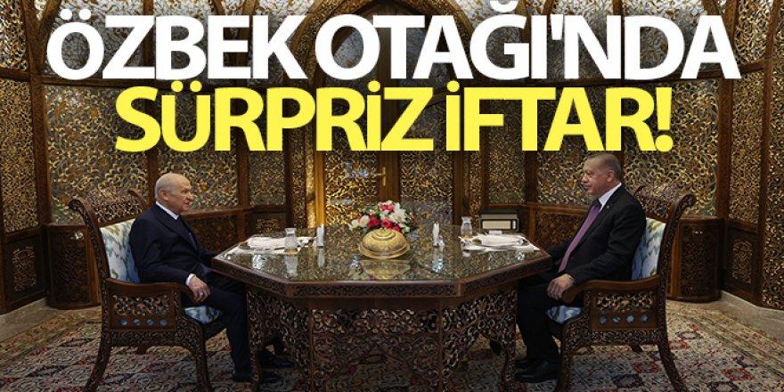 Erdoğan ile MHP Lideri Bahçeli iftarda bir araya geldi
