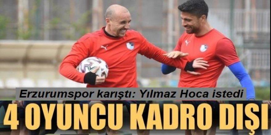 Erzurumspor'da Beşiktaş maçı sonrası deprem!