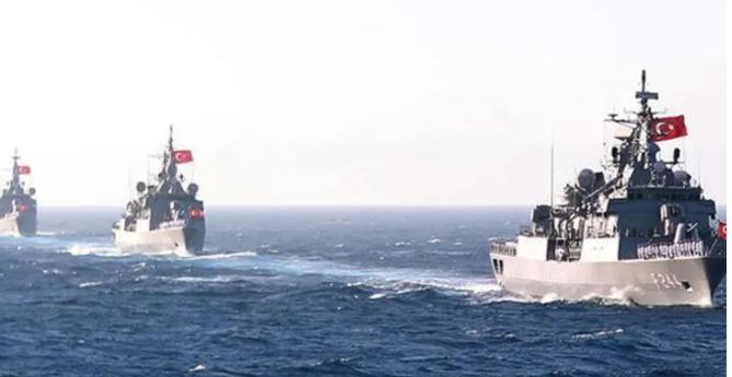 Hayfa Üniversitesi: Türk donanması, Doğu Akdeniz'deki en güçlü donanma