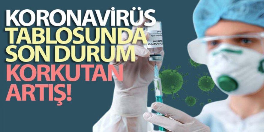 Türkiye'de son 24 saatte 62.606 yeni vaka tespit edildi
