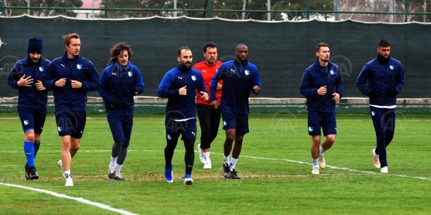 Erzurumspor, Yeni Malatyaspor maçının hazırlıklarına başladı