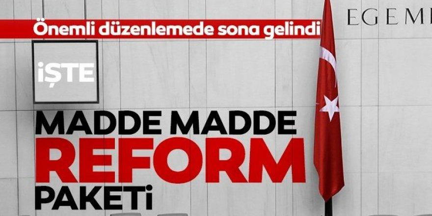Yerel yönetim reformunda sona gelindi!