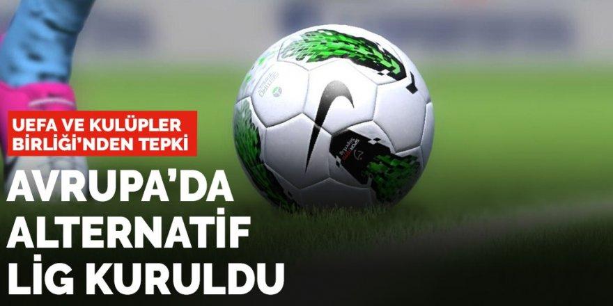 12 futbol kulübü 'Avrupa Süper Ligi' için anlaşmaya vardı