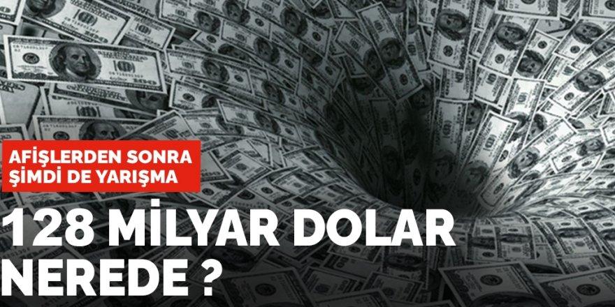 Afişlerden sonra şimdi de sosyal medyada: 128 milyar dolar nerede? yarışması
